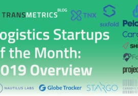 Logistics Startups of the Month: 2019 Overview