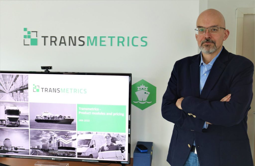 Asparuh Koev, Transmetrics CEO & Co-Founder